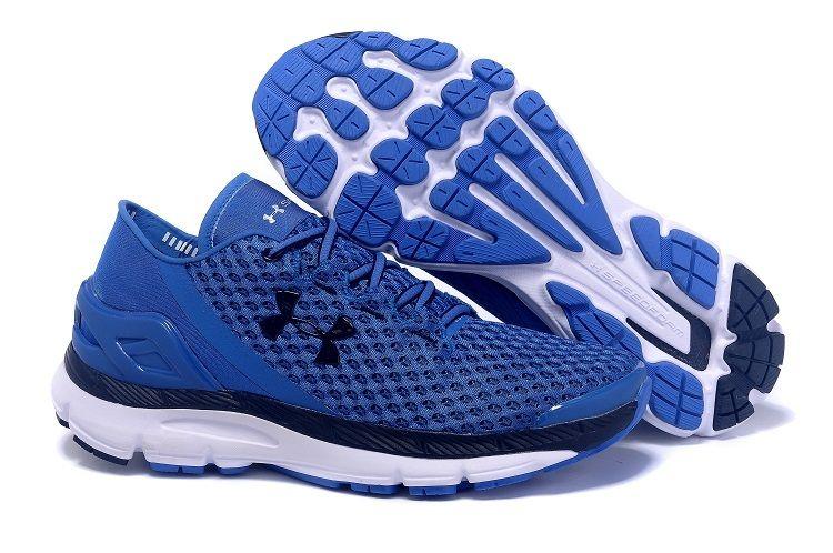 Men's Under Armour UA SpeedForm Gemini Running Shoes Royal/Black