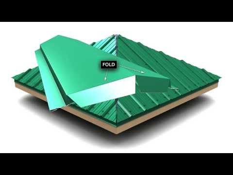 How To Install Standing Seam Metal Roofing Hip Cap Youtube House Roof Design Roof Design Metal Roof