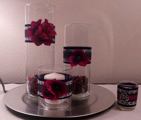 Vase Centerpiece Wrap Vase Centerpiece By Poshpenguincreations Do