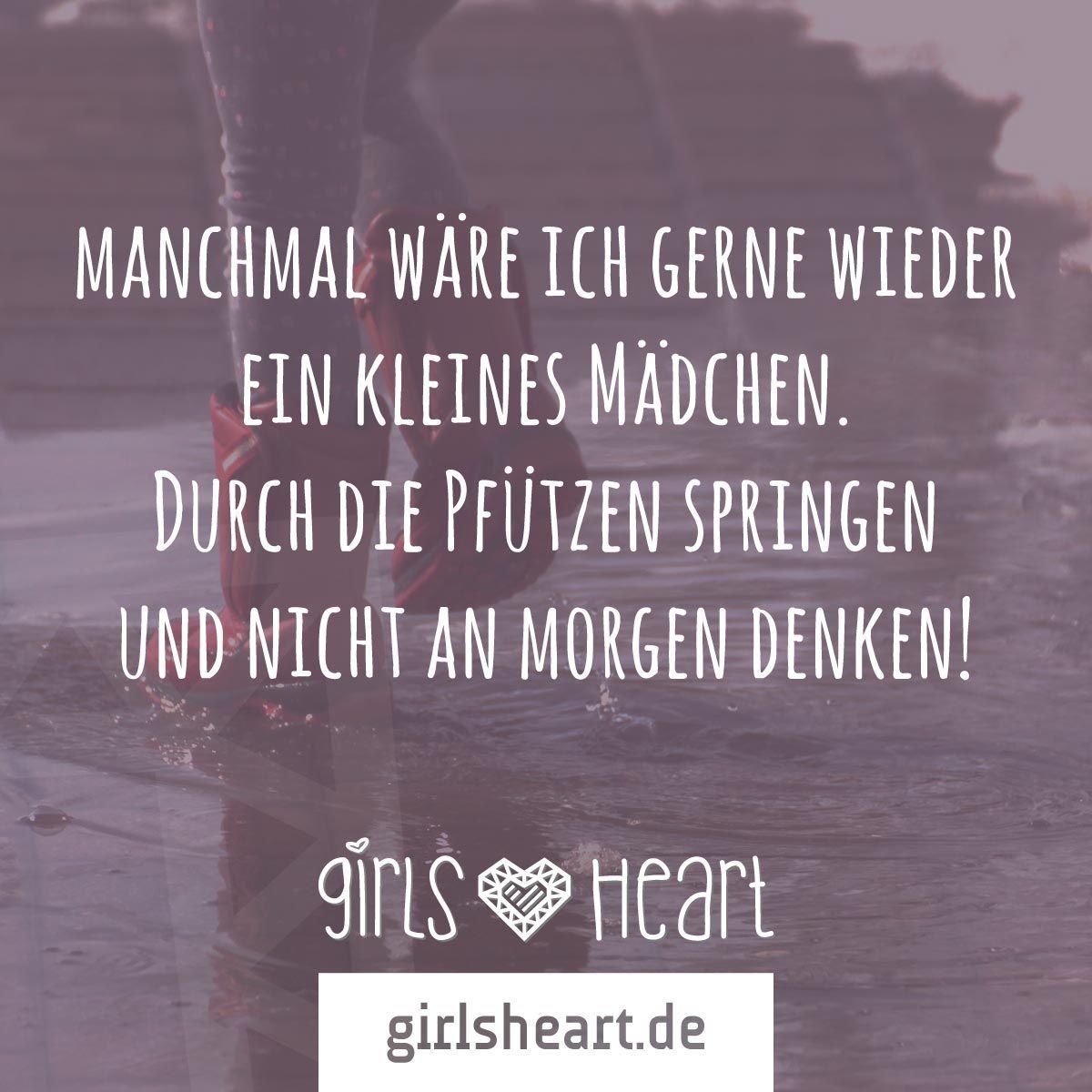 kindheit sprüche Mehr Sprüche auf: .girlsheart.de #kind #spaß #sorgenfrei  kindheit sprüche