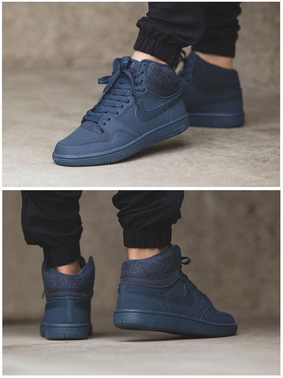 quality design fa386 3b3e7 Nike Court Force High ND Squadron Blue