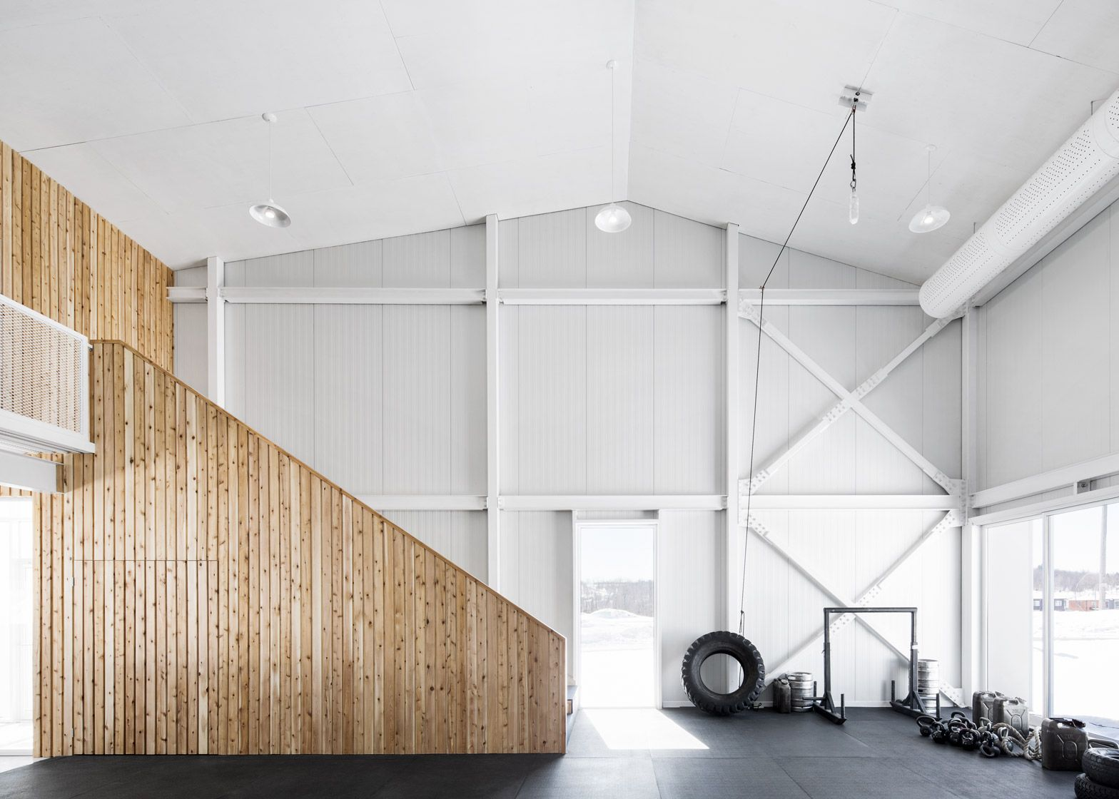 Architecture microclimat completes ontario fitness centre