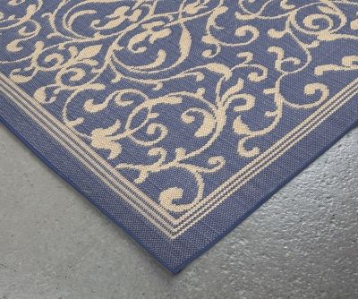 """Home Accents 7'10"""" x 9'10"""" Rug by Ashley HomeStore, Blue"""
