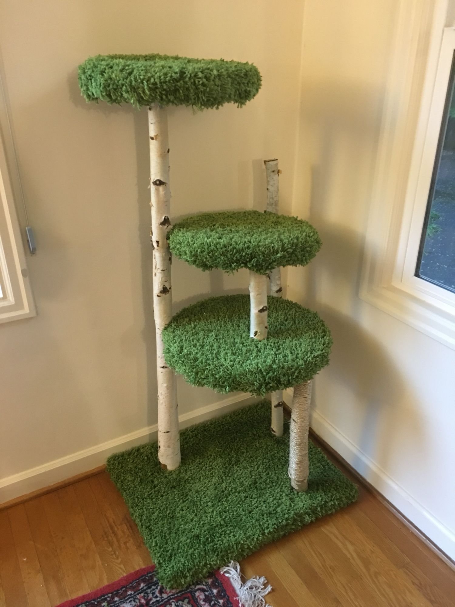 Cat Tree I Made Easy Diy Cat Trees Diy Easy Diy Cat Toys Cat