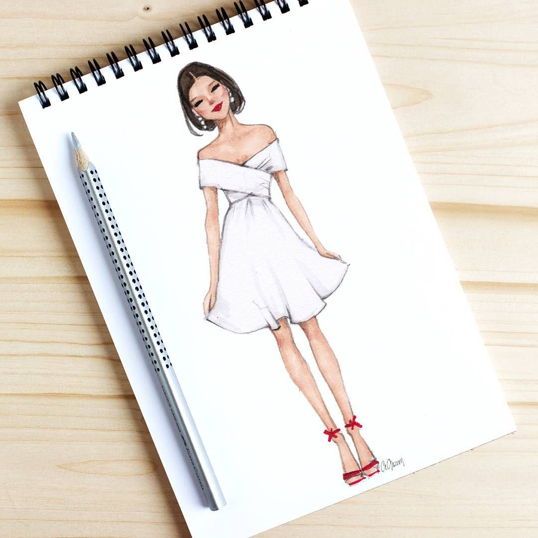 Instagram'da Fashion Illustrator: ""