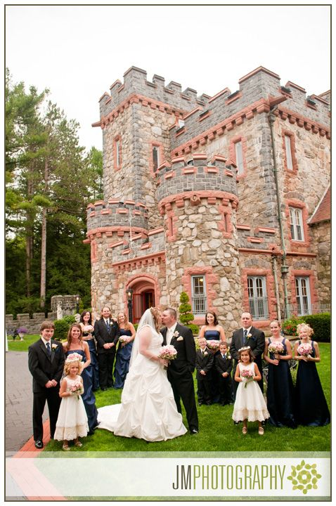 Wedding Photography At Searles Castle New Hampshire Bride Groom England