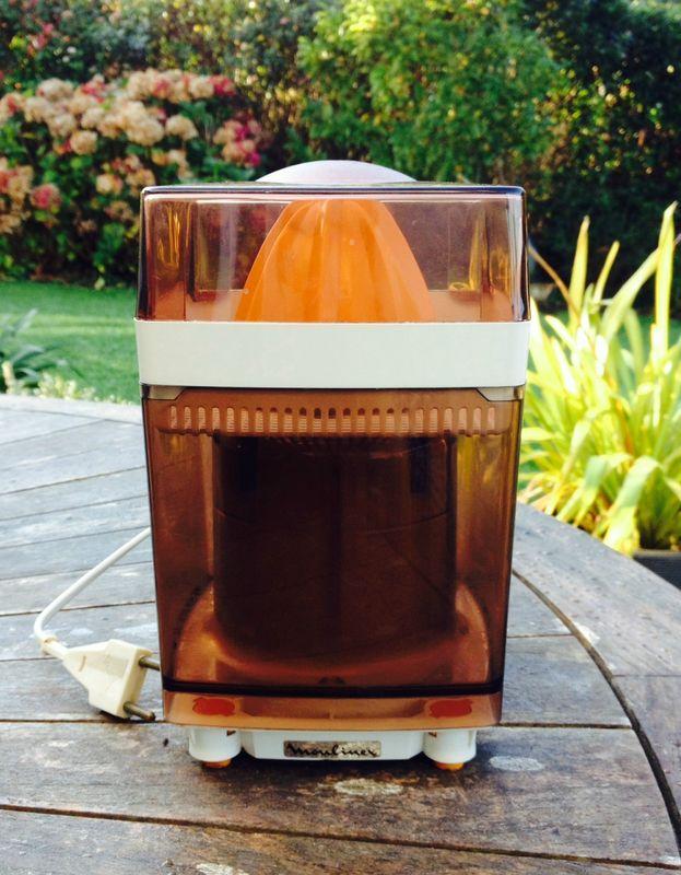 Presse agrume électrique Moulinex Années 70 Vintage