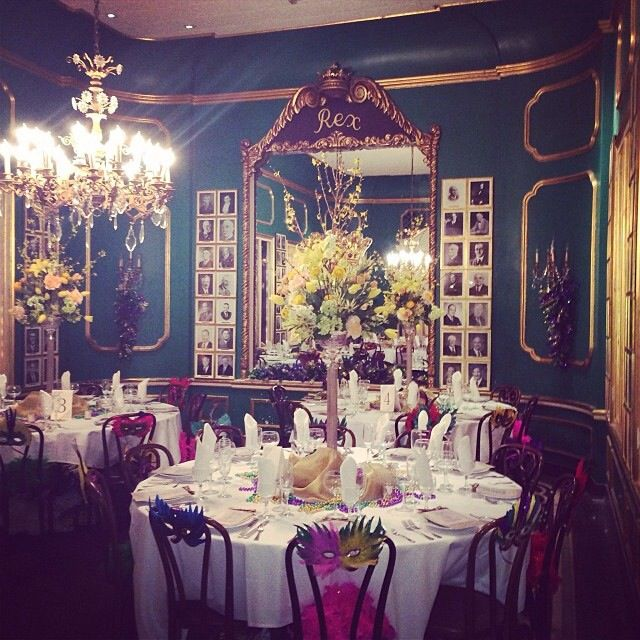 The Rex Room at Antoine's, New Orleans' oldest restaurant.