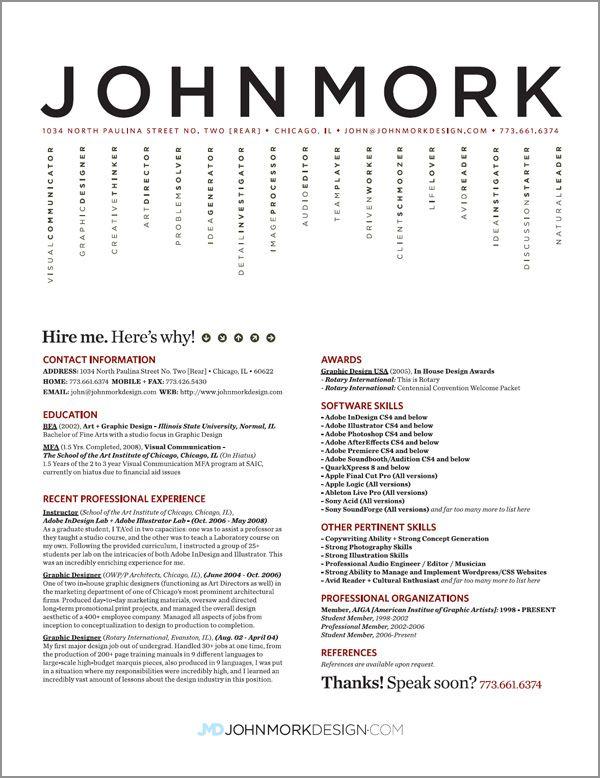 Best Creative Resumes Free Resume Templates Graphic Design Resume Graphic Resume Resume Design