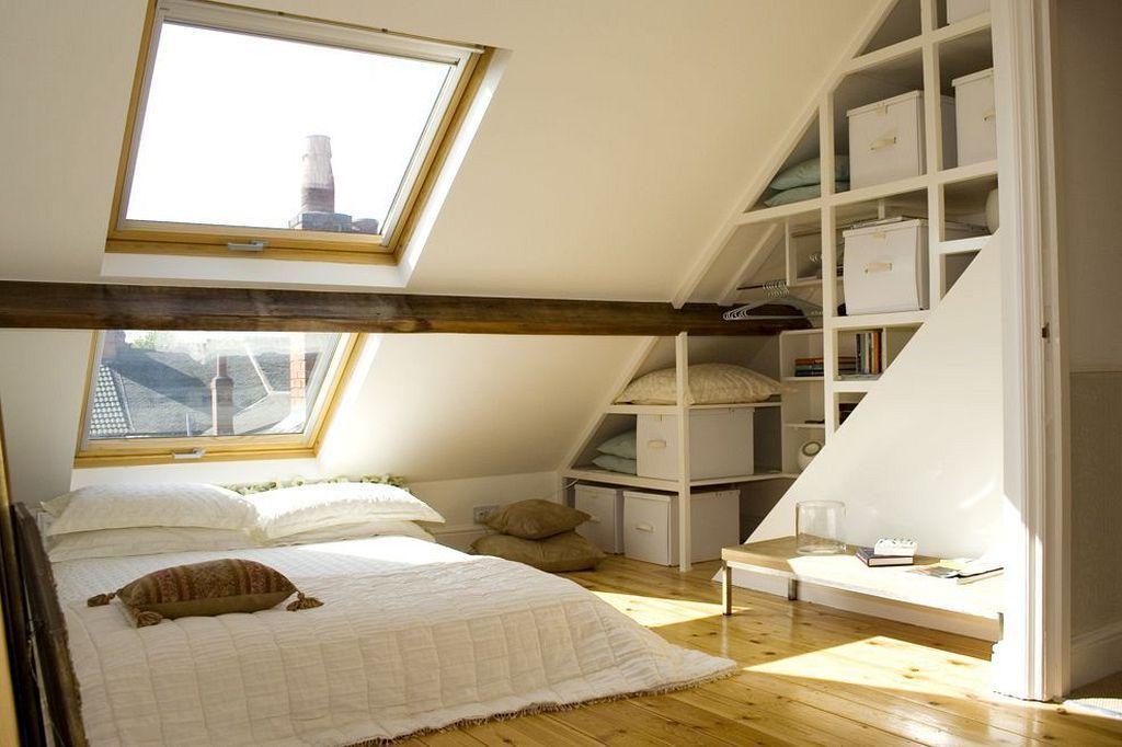 6 Ridiculous Tips Can Change Your Life Attic Staircase Storage Narrow Attic Bedroom Garage Attic Access Attic Room No Wi Loft Conversion Loft Room Loft Spaces
