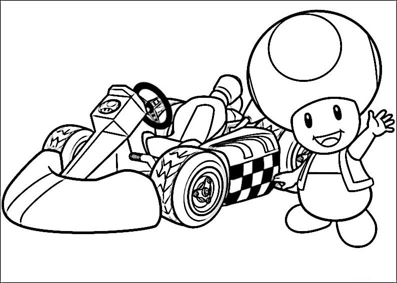 Mario Bross Kleurplaten 40 | kleurplaten | Pinterest | Mario ...