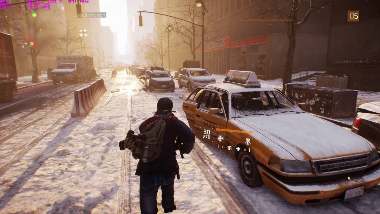 XFX R9 390X The Division UHD FPS Ultra Game Settings Fps