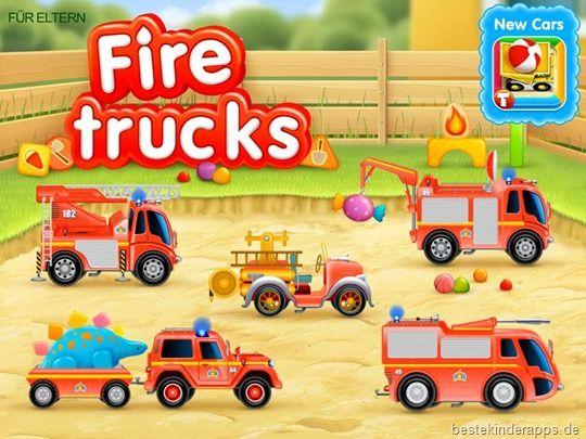 Fire Trucks - Kinder App