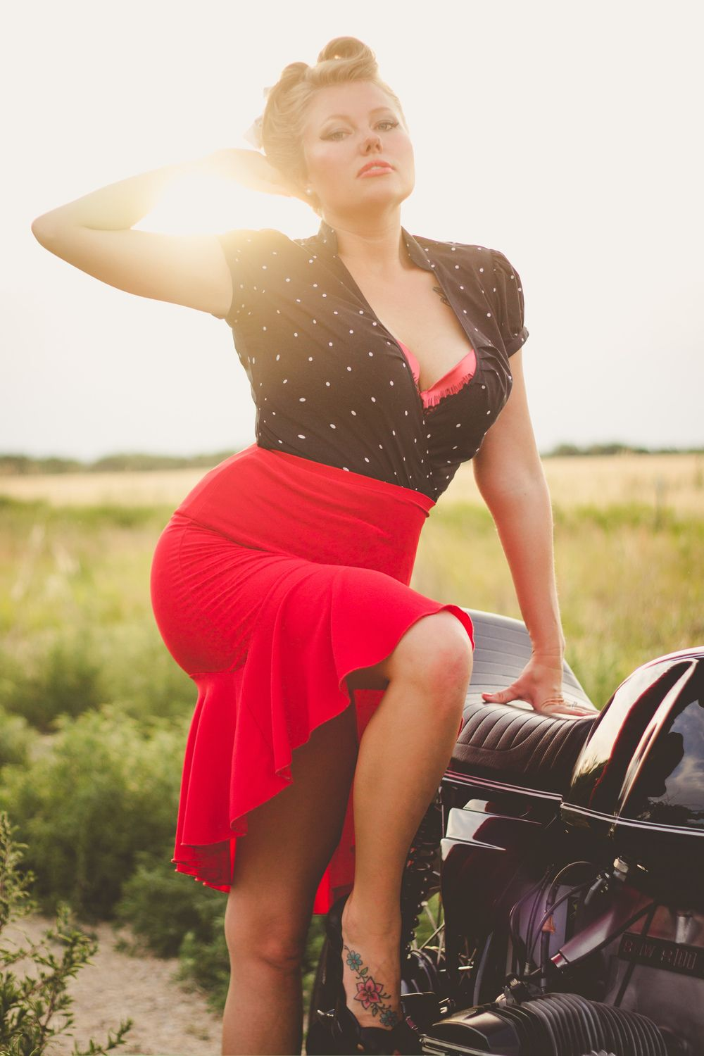 monicadellphotography.com Pin up Beauty session Rockabilly vintage photoshoot