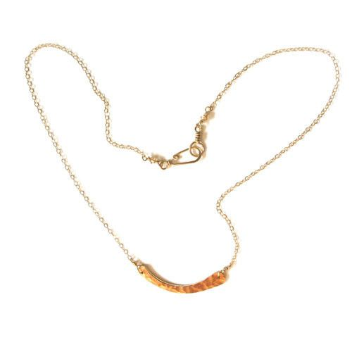 Wish I may, wish I might, wear this necklace both day and night.  Hand-formed wishbone from @noon designs.  #DowncitySummers