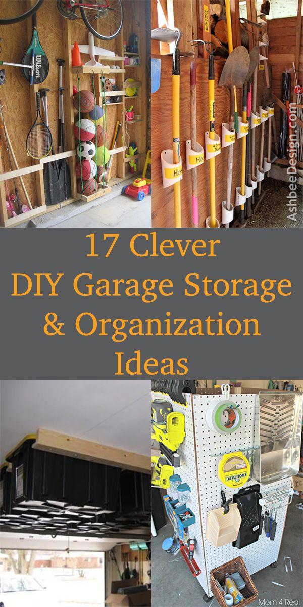 17 clever diy garage storage and organization ideas in on clever garage organization ideas id=67895