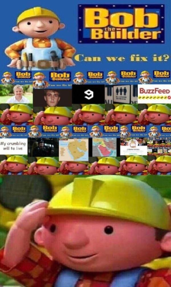 Bob The Builder Funny : builder, funny, Destroy, Builder,, Memes,, Funny, Memes
