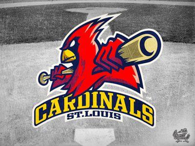 CARDINALS-baseball-logo-design Graphic design Pinterest