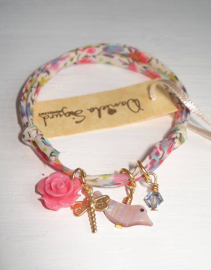 encanto pássaro pulseira liberdade de impressão, jóia sigurd daniela   notonthehighstreet.com