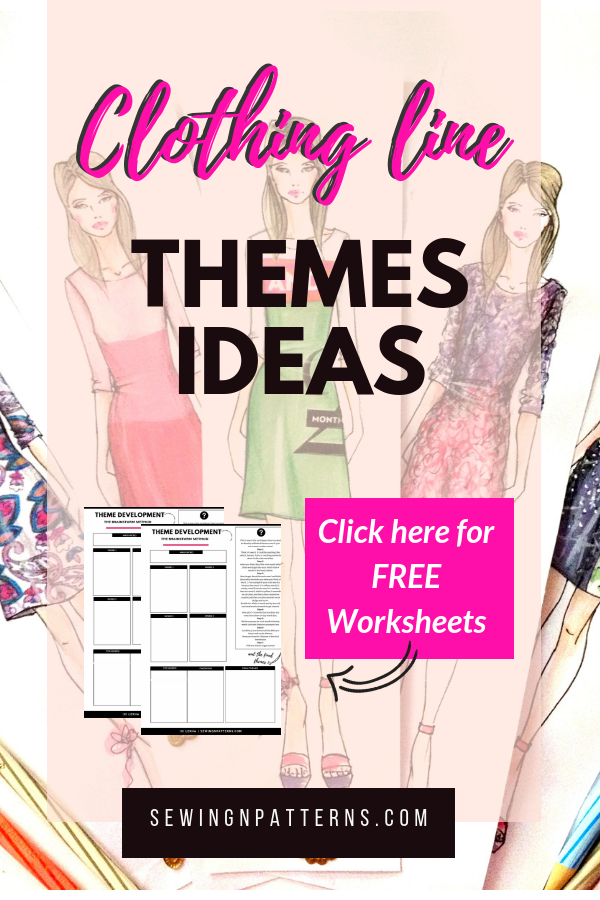Fashion Collection Themes The 6 Step Process To Come Up With Unique Fashion Collection Names Fashion Design Books Startup Fashion Starting A Clothing Business