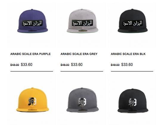 064449aca07 30% Off BLACK SCALE 59FIfty Fitted Caps