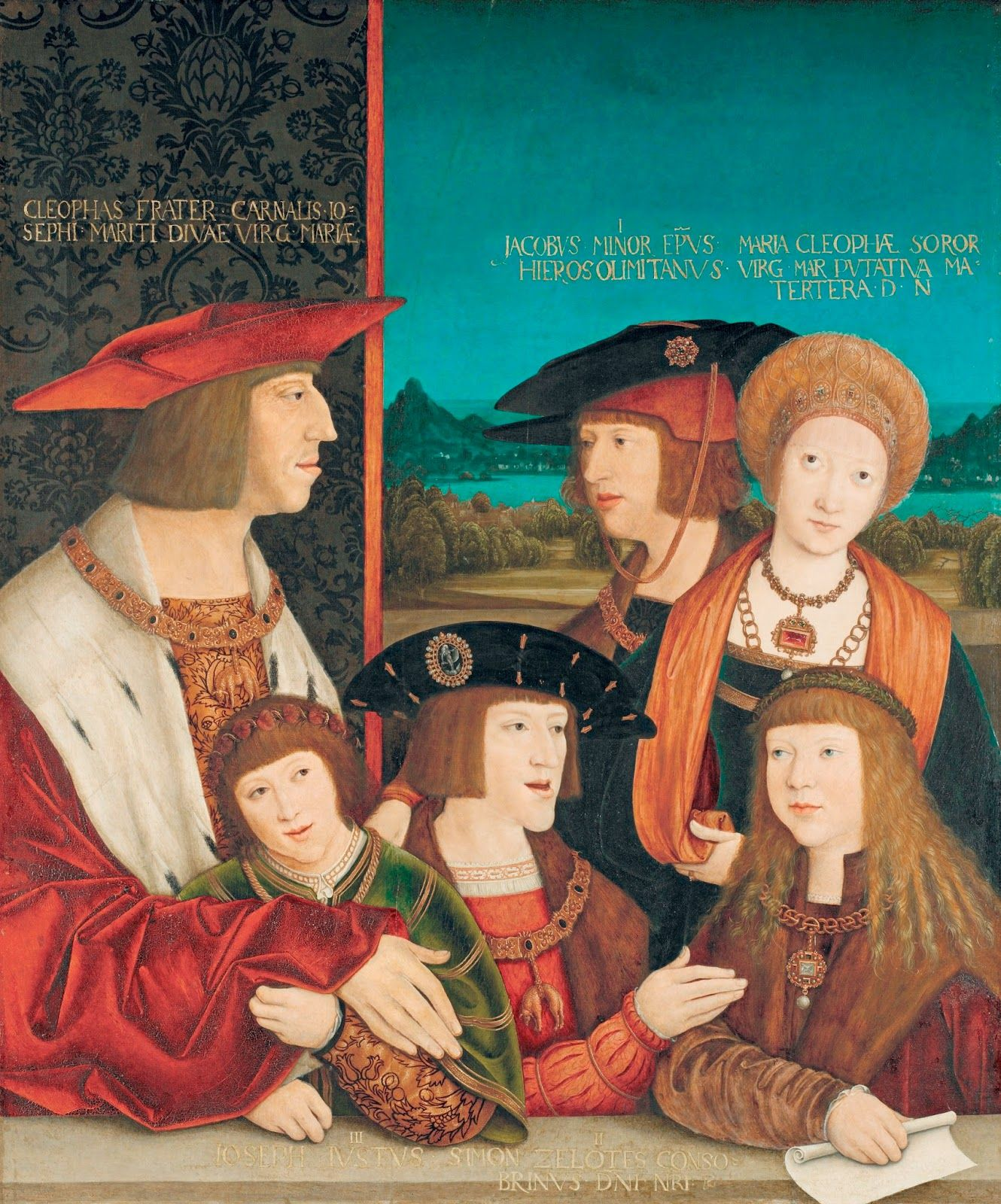 Art in Space: Bernhard Strigel_The Family of Maximilian I (Kunst...