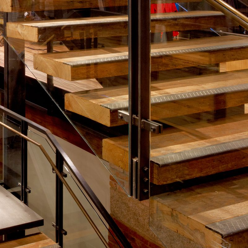 Best Reclaimed Oak Stair Treads Wood Stair Treads Stairs 400 x 300