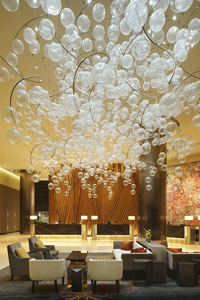 Fairmont Hotel Singapore, redesigned by Hirsch Bedner Associates (HBA) #hotel #design #cool