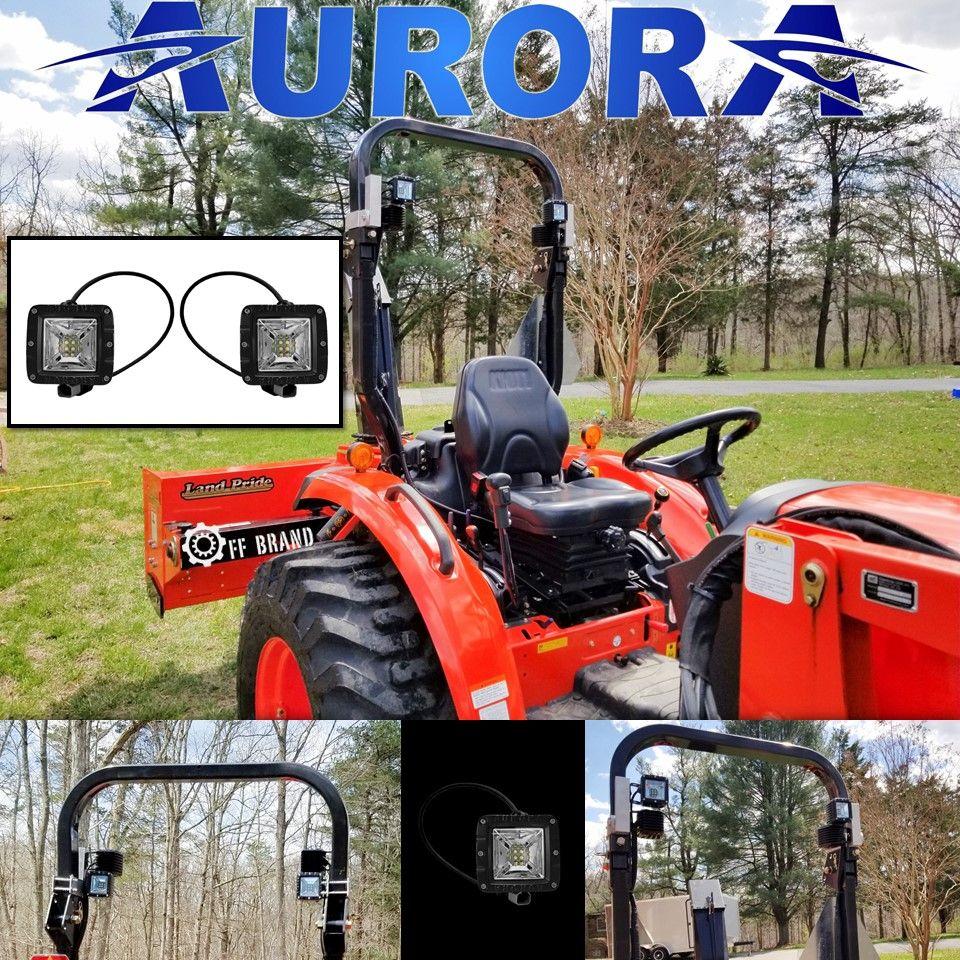 Aurora 3 Inch LED Light Pod W/ Scene light Beam Kit - 3,880