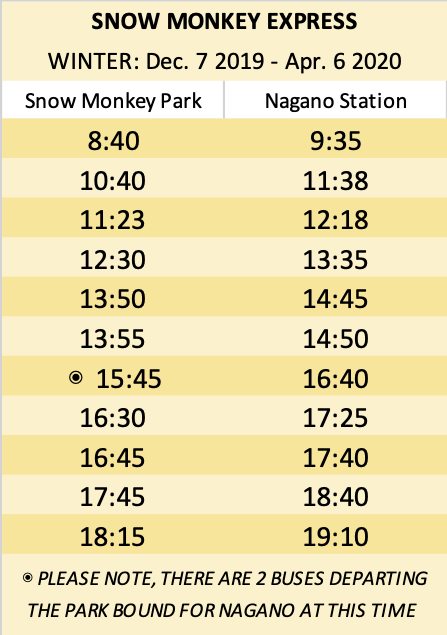Access Snow Monkey Resorts Snow Monkey Snow Monkey Park Monkey Park