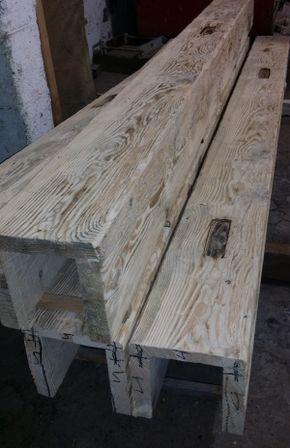 Photo of Tavole e travi nuove travi in legno di granaio #RecycledWoodProjects