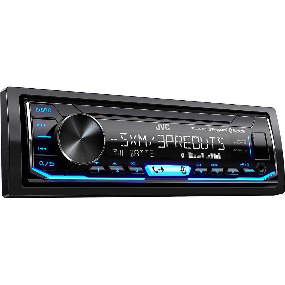 Jvc Kd X350bts 1 Din Car Digital Media Bluetooth Receiver Usb