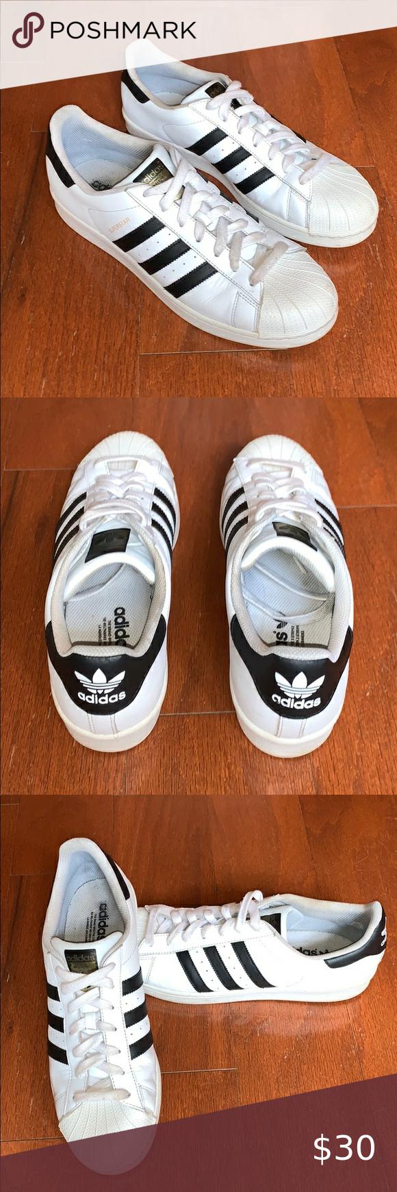 adidas superstars // size men's 11.5 in