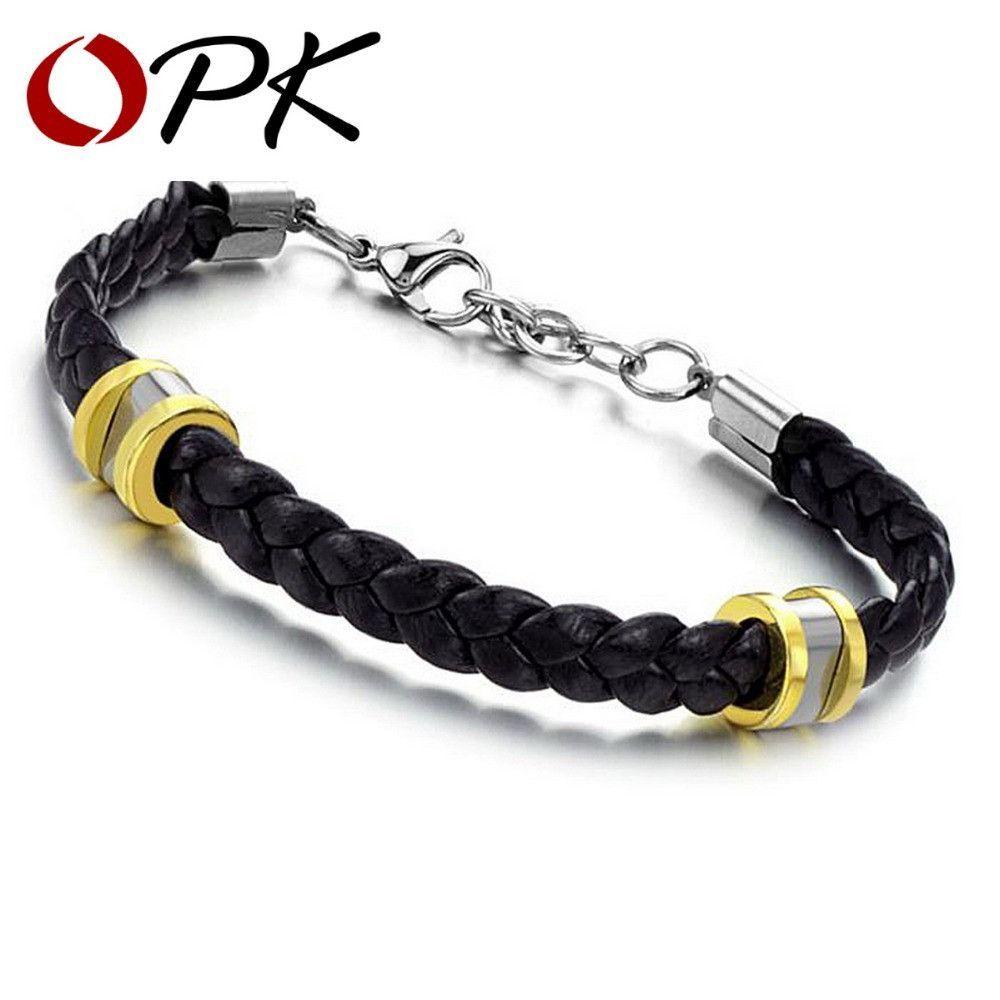 Menus leather sport bracelet products pinterest products