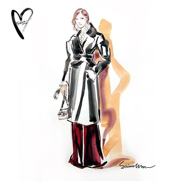 162 likes 1 comments shinn wen fashion illustrator ruthless wen on