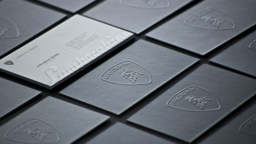 A quick guide to print finishes business cards embossed business card reheart