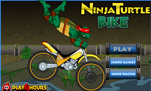 Ninja Turtles Bike Racing Game DriverBike, TMNT Bike