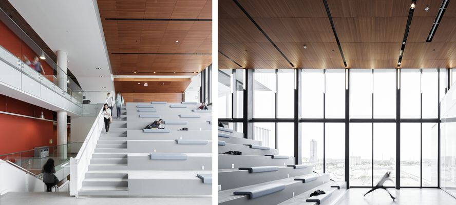 Stepped Informal Seating At George Brown College Kpmb Architects