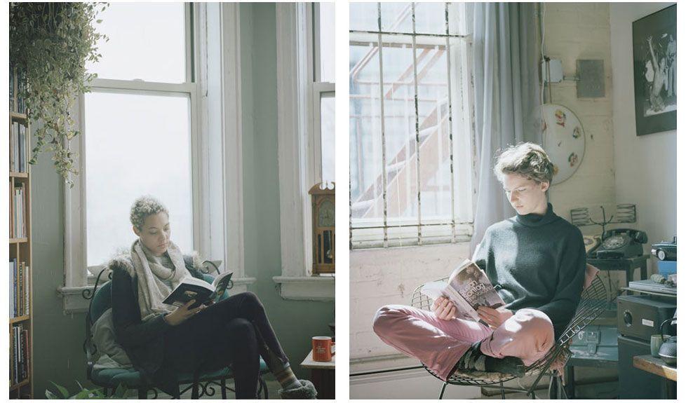 carrie schneider reading women series contemporary art