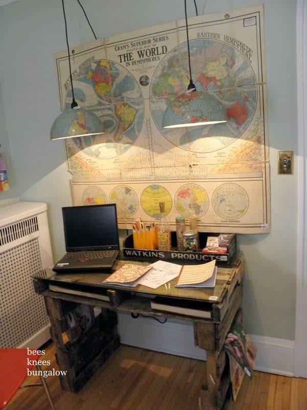 cool globe pendants. {bees knees bungalow} | kid's room | pinterest