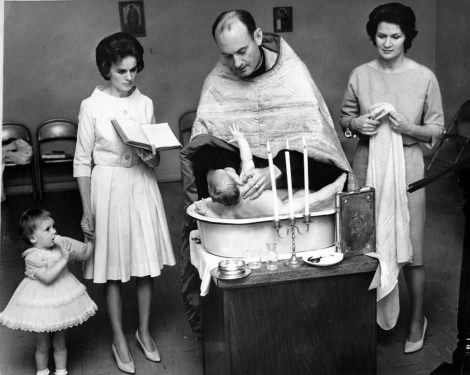 marina oswald took part in the christening of her infant