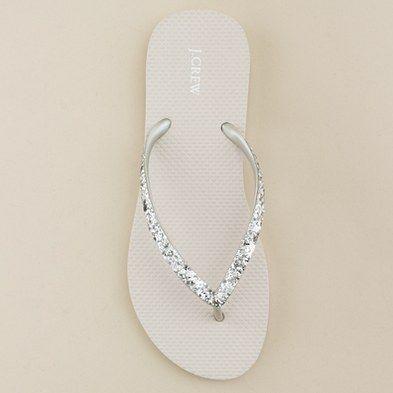 pretty sparkly sandals