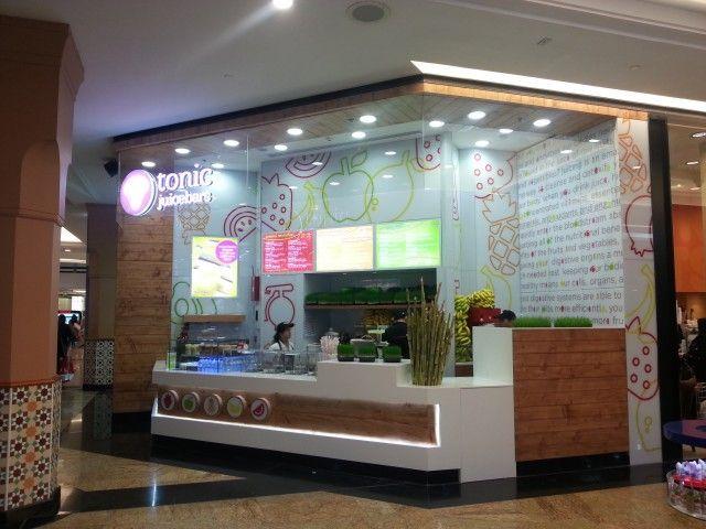 Nice Tonic Juice Bar   Mall Of The Emirates   Dubai Interior Design Company  Studio EM