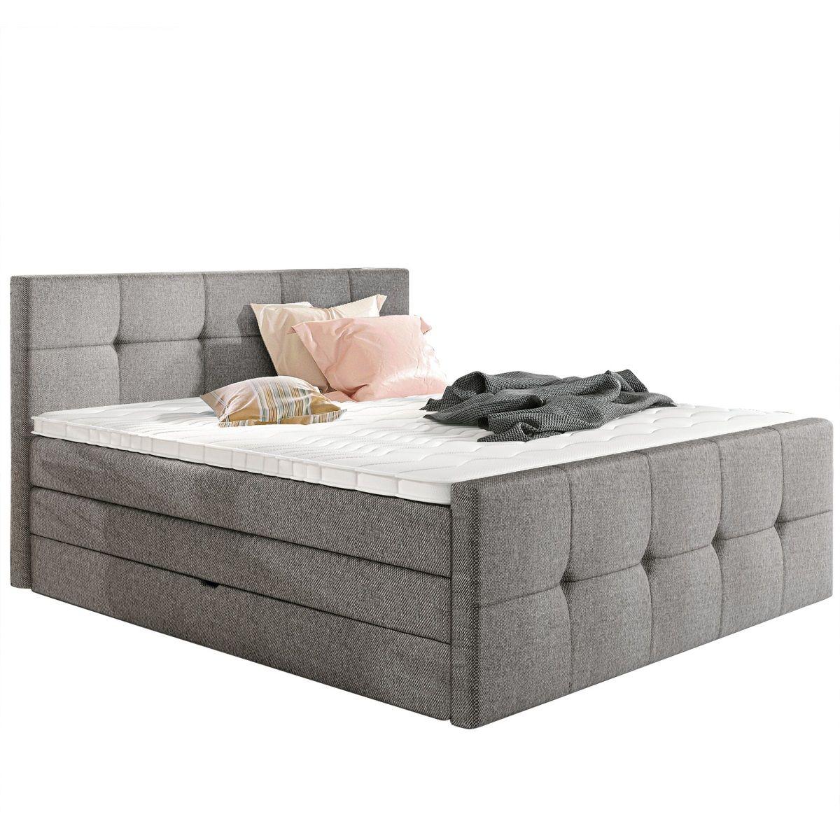 vito Bett PLAIN Stoffbezug Silber #schlafzimmer #bett #wohnidee ...