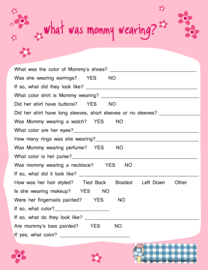 Fun New Baby Shower Games