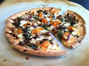 Gluten Free Roasted Veggie Pizza with Balsamic Reduction | Udi's® Gluten Free Bread
