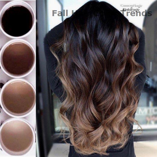 Trending Fall Hair Color Ideas #hairstyle #fallhaircolors