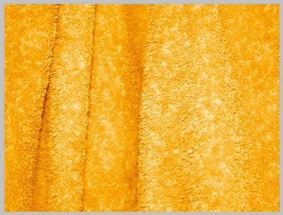 Orange Microfiber Circle Beach Towel