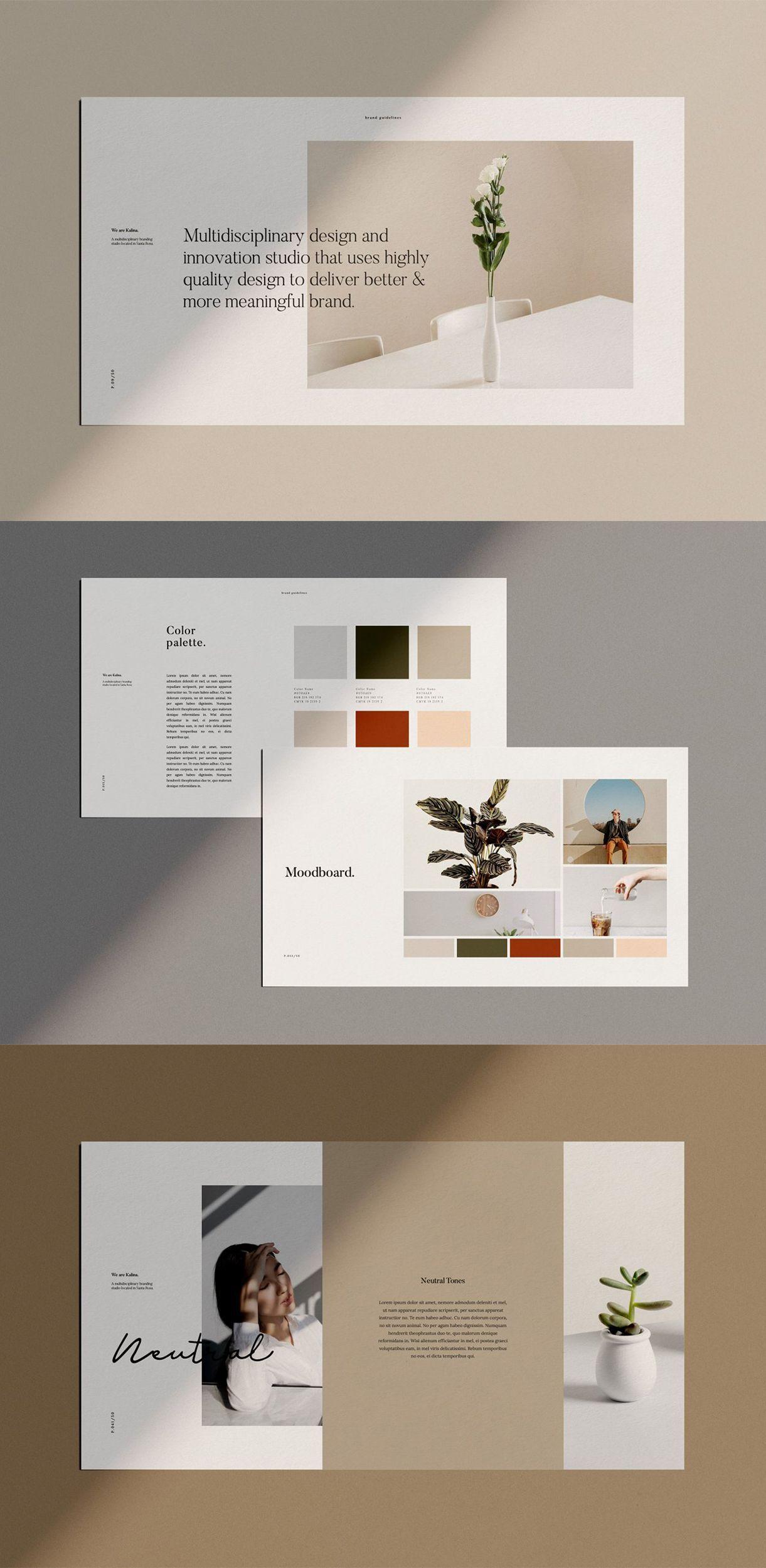 branding Presentation  presentation design templates business presentation presentation bookbook