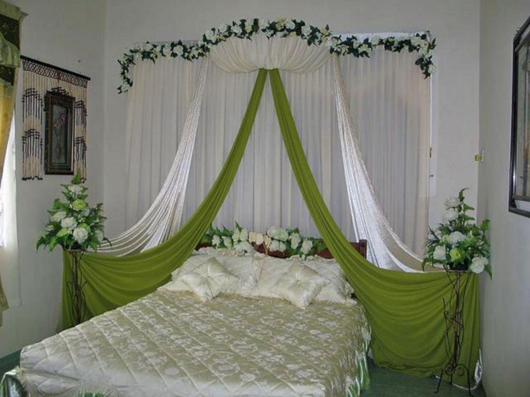 40 Awesome Wedding Night Room Decoration Ideas Jaba Pinterest
